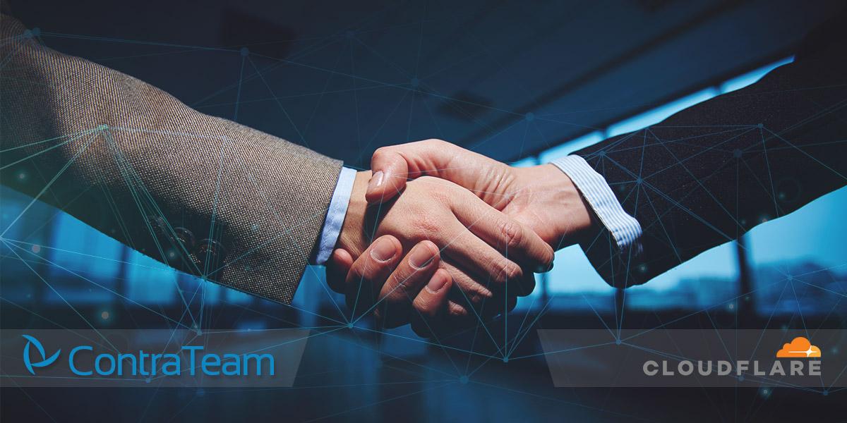 Partnerstvo ContraTeam sa Cloudflare hosting Srbija