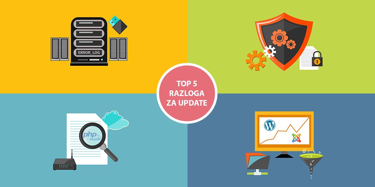 Top 5 razloga za ažuriranje i optimizaciju sajta